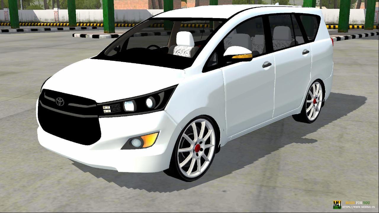 Toyota Innova Crysta Car Mod For Bus Simulator Indonesia