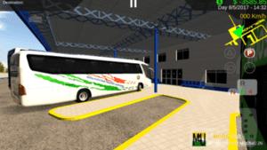 KSRTC VOLVO Skin For Heavy Bus Simulator